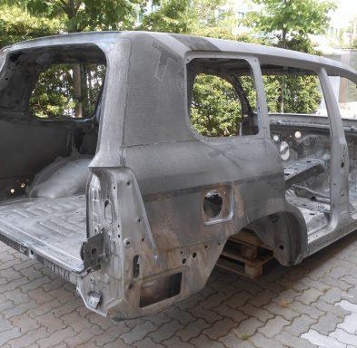 Toyota dévernie et décapée