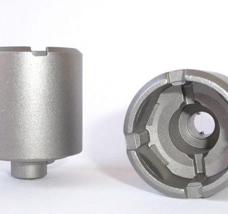 Pulitura metalli: granigliatura