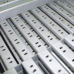Nettoyage métaux: supports micro grenaillés