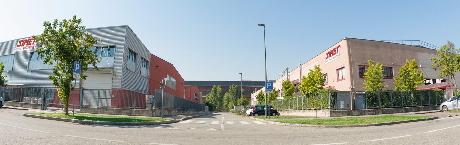 Simet - sede via Feroggio 21 e 29/A
