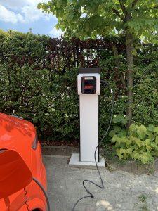 Colonne de recharge privée de 22 kW